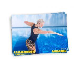 Aguamiu lahjakortti - uima-asu lahjaksi